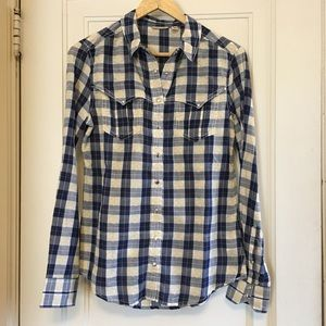 Anthropologie (Holding Horses) Button Down top